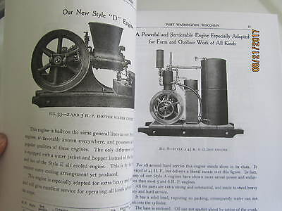 Gilson Manufacturing Co Gas Engine Information Type Catalog Manual 3