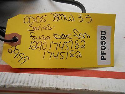00-06 BMW 3 series  fuse box blower fan 12901745182 1745182  PF0590 4