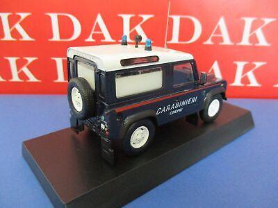 Die cast 1//43 Modellino Auto Carabinieri Land Rover Defender 90 United Nation MP