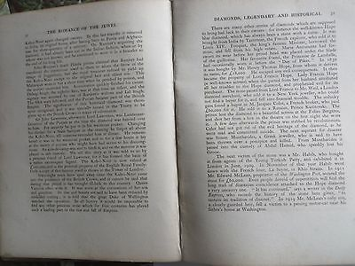 The Romance of the Jewels Rare Private Book Hudson & kearns by STOPFORD francis 9