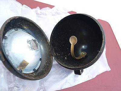 12# NIRONA FAHRRAD Scheinwerfer Lampe Vorkrieg Chrom