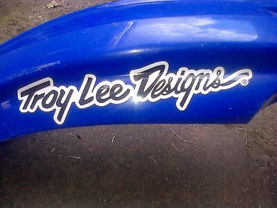 Troy Lee Designs Helmet Peak 100mm Stickers YZF CRF RMF KXF Quad MTB Moto