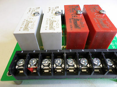 GRAYHILL SOLID STATE RELAY PANEL - 70AD3346 plus relays.- 70-ODC5 and 70-IDC5