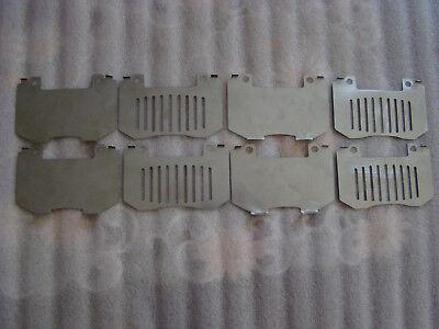 TOYOTA SUPRA MK4//CELICA ST205 STAINLESS STEEL FRONT BRAKE PAD SHIM KIT