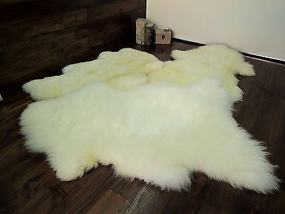 Soft 100% Genuine Natural Sheepskin Rug - Pet Bed - Dog - Cat - Silky Warm Wool 4