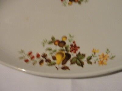 Vintage floral china serving platter 5