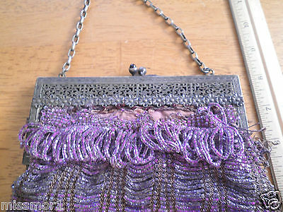 6 Of 11 Caggiano Vintage Beaded Purse In Box Italy