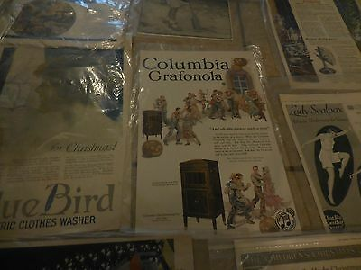 Antique Saturday evening post &The Ladies Home Journal Advertisements 1917-18