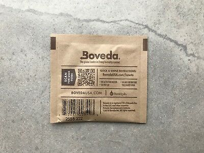 Boveda 2-Way 62% Humidity Control Pack (8 gram) x 2 Pack