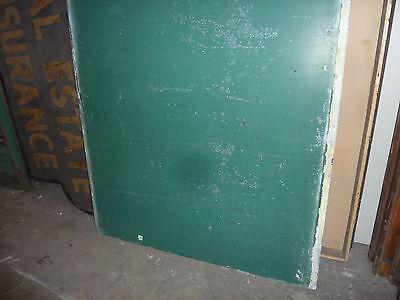 "antique ORIGINAL circa 1920's schoolhouse SLATE chalkboard 62 x 42"" , UTICA, NY 2"