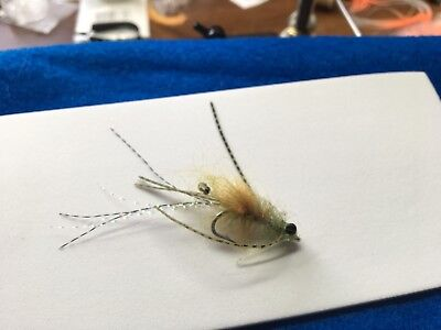 Saltwater Flies Olive Ep Mole Crab Size 6 Permit bonefish