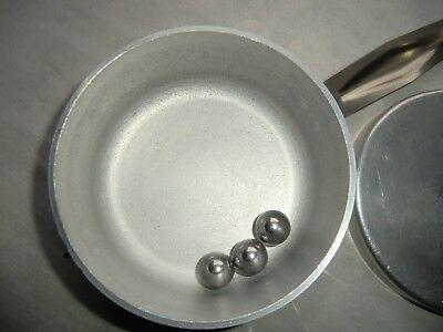 Wolfsiffer´s Pulver-Misch-Dose rund komplett mit 3 Kugeln aus Aluminium 3