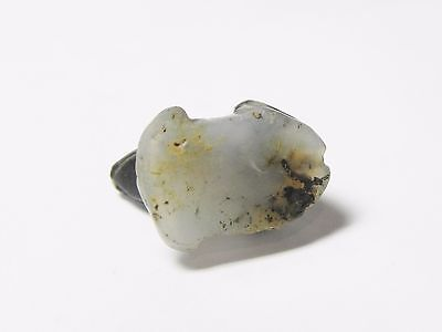 Zurqieh -Q240- Ancient Egypt , New Kingdom Agate Frog Amulet. 1400 B.c 6