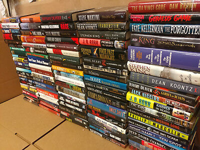 Lot of 10 Mystery Suspense Thriller Crime Murder Detective Hardcover HB MIX Book 11