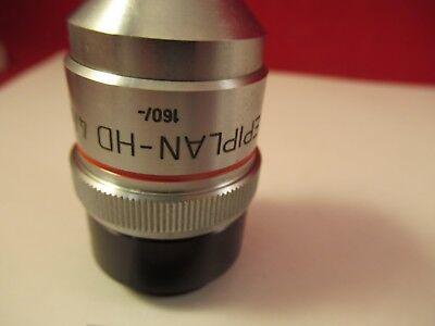 Zeiss Pol Objectif Epiplan HD 4 X / 160 Microscope Pièce comme sur Photo # 3