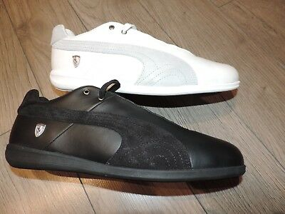 Puma Original Shoes Future Cat LS SF Scuderia Ferrari Black White 305811 2
