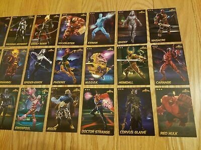 All Foil $9.99 Each Marvel Contest of Champions Cards Rare Cards Choose! 4