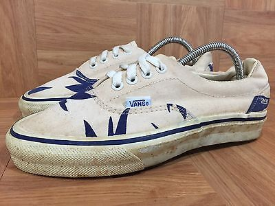 a3596e1927 RARE!🌴 VANS ERA 95 Palm Leaf 80 s Vintage USA Canvas Van Doren ...