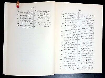 Antiqe Arabic Literature Book. Al-Borsan W Al-Organ By Al-Jahiz . 1987 10