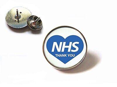 Nhs Uk Nurse Doctor Ambulance Medic Porter Paramedic Green Line Lapel Pin Badge 8