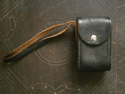 OLD RARE ANTIQUE USSR MONOCLE magnifying glass BINOCULARS WITH LEATHER CASE 2