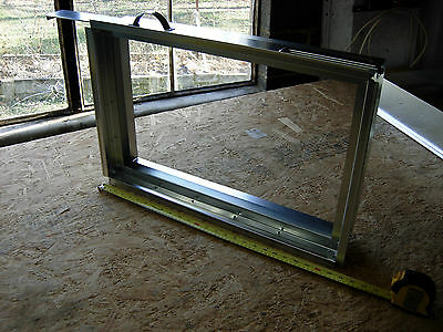 """duct work,hvac Long Side in Return Air Filter Rack for filter 25 x 16 x 4/"""""""
