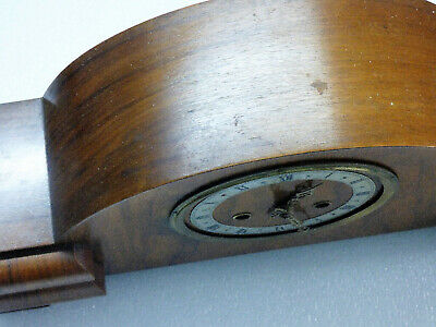 Enfield Mantle Clock Vintage Art Deco In Good Working Condition 8