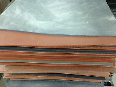 """70 durometer High Temp FDA 12/"""" x 12/"""" Red Silicone Rubber Sheet 1//16/"""" thick"""