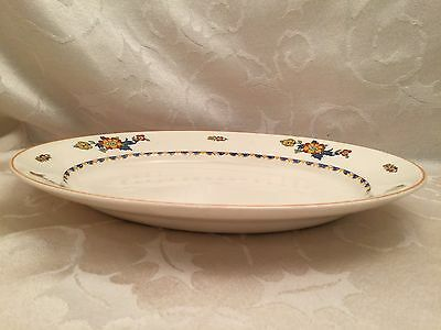 J /& G Meakin of England 9 Inch Dinner Plate Pippin Pattern Discontinued 1970s Danish Modern Style Serving Plate Midcentury Modern