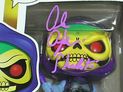 ALAN OPPENHEIMER Signed Battle Armour SKELETOR Funko Pop 563 Autograph PROOF PIC 2