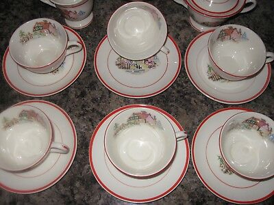 Crooksville China Pottery  Made In USA 3