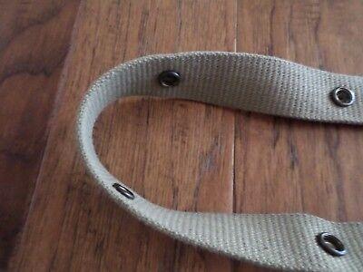 Wwii Marine Corps Usmc Demolition Belt Or M1 Carbine Clip Pouch Belt 5 Snap 12