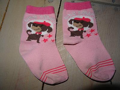 Ensemble rose leggins rayé, pull, gilet, 2 paires de chaussettes Taille 2 ans 5