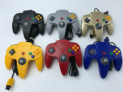 Choose Nintendo 64 Console Color + Up to 4 Controllers + Cords!  CLEANED N64! 11
