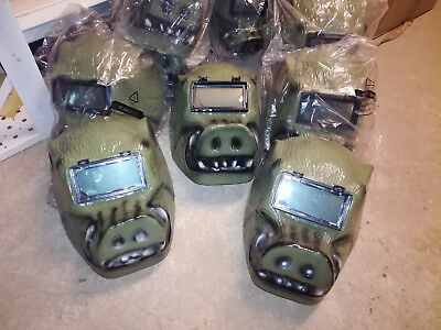MAD DOG Bronze Maske Vereine Gruppen Fastnacht Fasching Karneval ExSchweissmaske