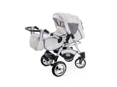 Passeggino TRIO Baby Carrozzina 3in1 Seggioliono OVETTO AUTO GagaDumi Urbano 3