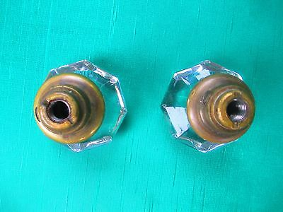Antique GLASS Door Knob DECORATIVE simply ornate  w/ Ornate Interior Design 5