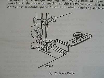 SINGER Teacher's Textbook of Machine Sewing 1957-on CD (PDF file) FREE SHIPPING! 4