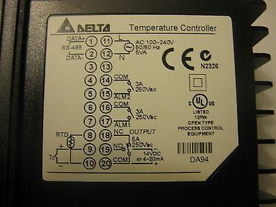 NEW IN BOX  Delta PID temperature controller DTA9648RO 100-240vac