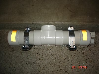Condensate neutralizer kit equipped with a condensate trap KIT3046