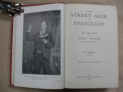 The Life Story of Albert Shakesby - Signed - 1910