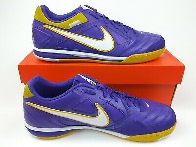 85542f08b ... Nike Mens Rare Nike5 Gato LTR Indoor Soccer Shoes 415123-508 Purple  Yellow 11