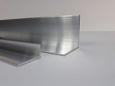 Aluminium Winkel L Profil Alu Schiene Aluprofil Winkelprofil Walzblank Aluwinkel 7