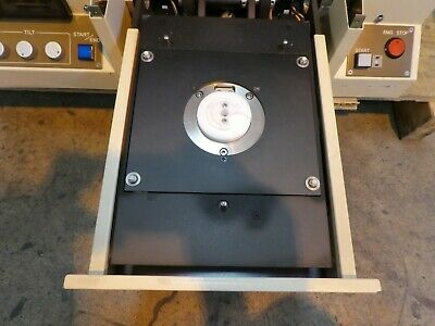 Nidek FT-11 Horizontal Loading Flatness Tester Checker Tested Not Working As-Is 9