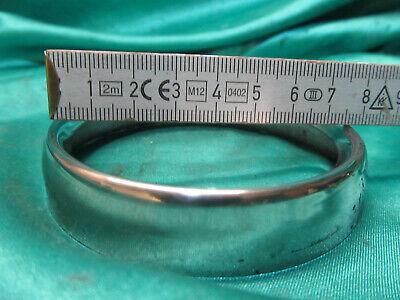 Kreidler Flroett RMC 50 80 Tacho Drehzahlmesser Ring 80mm Schwarz für Blaue VDO