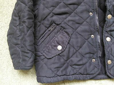 Feraud Girls' Black Quilted Jacket (Age 6) 2