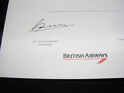 BA CONCORDE FLIGHT wallet+contents leather look Concord British Airways  flagship