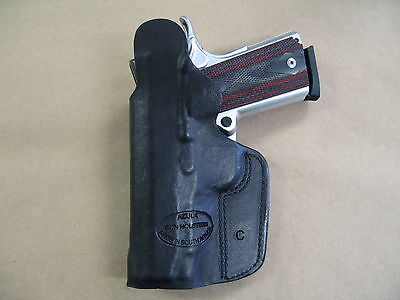 Para LDA Officer 1911 IWB Leather In The Waistband Concealed Carry Holster Black