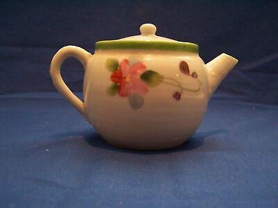 Vintage Japanese Tea Pot hand painted