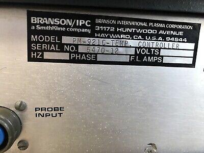 Dionex Gas Plasma Systems Branson/IPC PM-921C Temp Controller D380-012 12